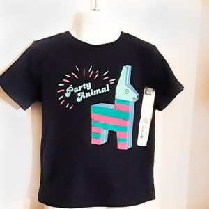 "🦙NWT ""Party Animal"" boys shirt"